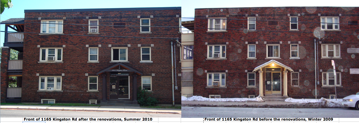 We're almost done summer construction at both buildings. Take a look at the before and after